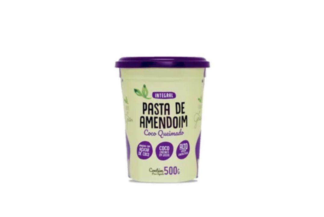 Pasta de Amendoim com Coco Queimado Sem Glúten  - Terra dos Grãos - 500 Gr  - Mundo Cerealista