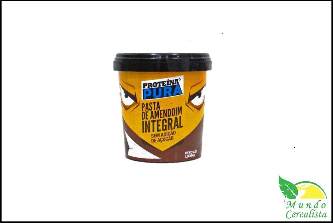 Pasta de Amendoim Int Gran Proteína Pura - 1,05 Kg  - Mundo Cerealista