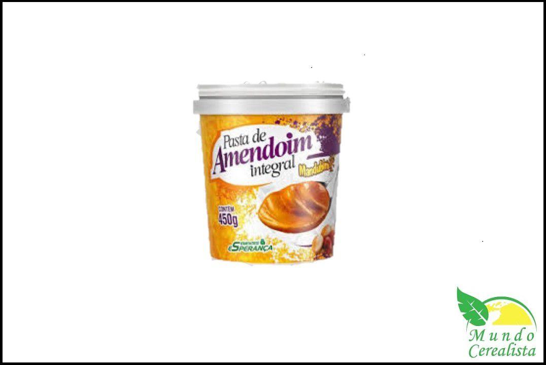 Pasta de Amendoim Integral Mandubim - 450 Gr  - Mundo Cerealista