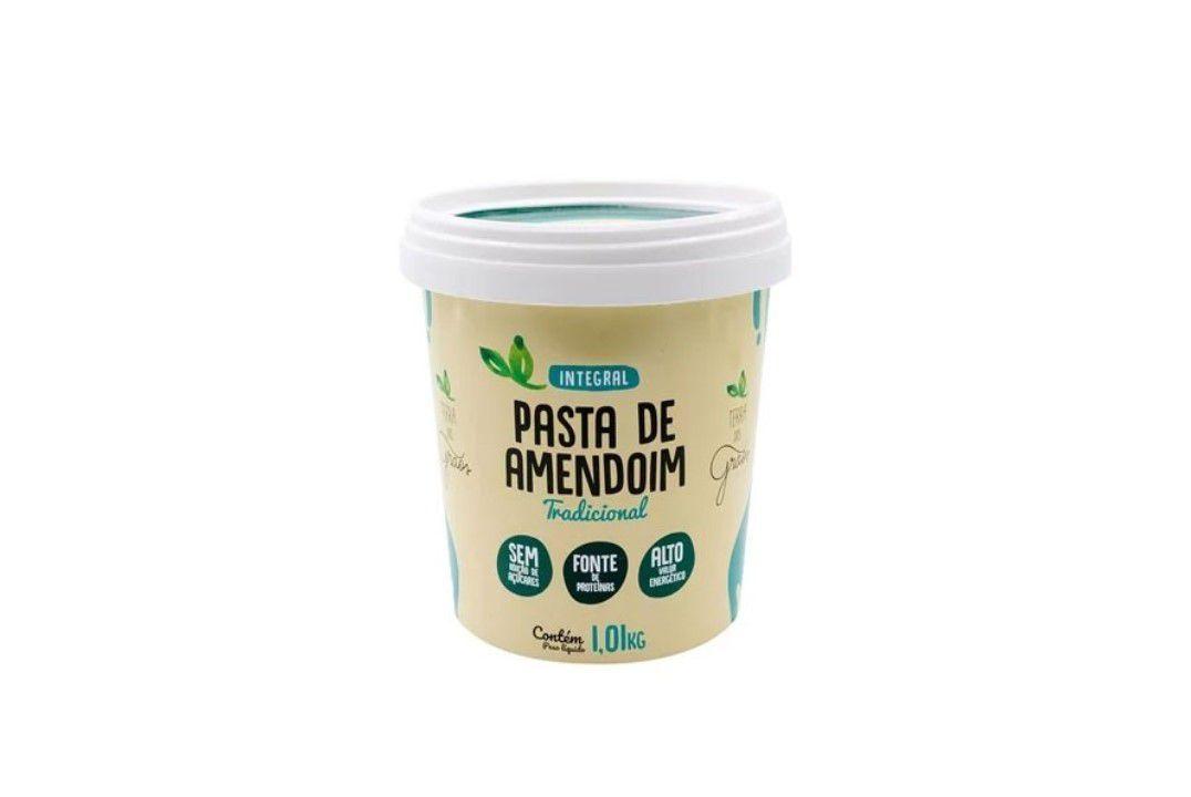 Pasta de Amendoim Integral Sem Glúten -Terra dos Grãos - 1 Kg  - Mundo Cerealista