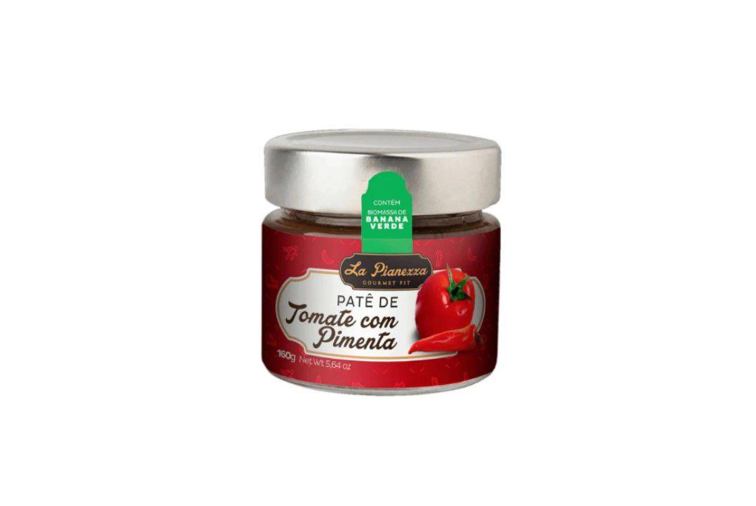 Patê de Tomate com Pimenta La Pianezza - 160 Gr  - Mundo Cerealista