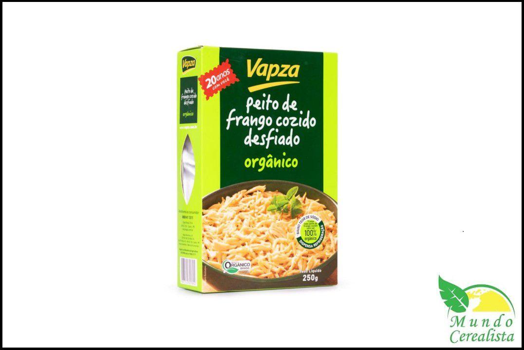 Peito De Frango Orgânico 250G - Vapza  - Mundo Cerealista