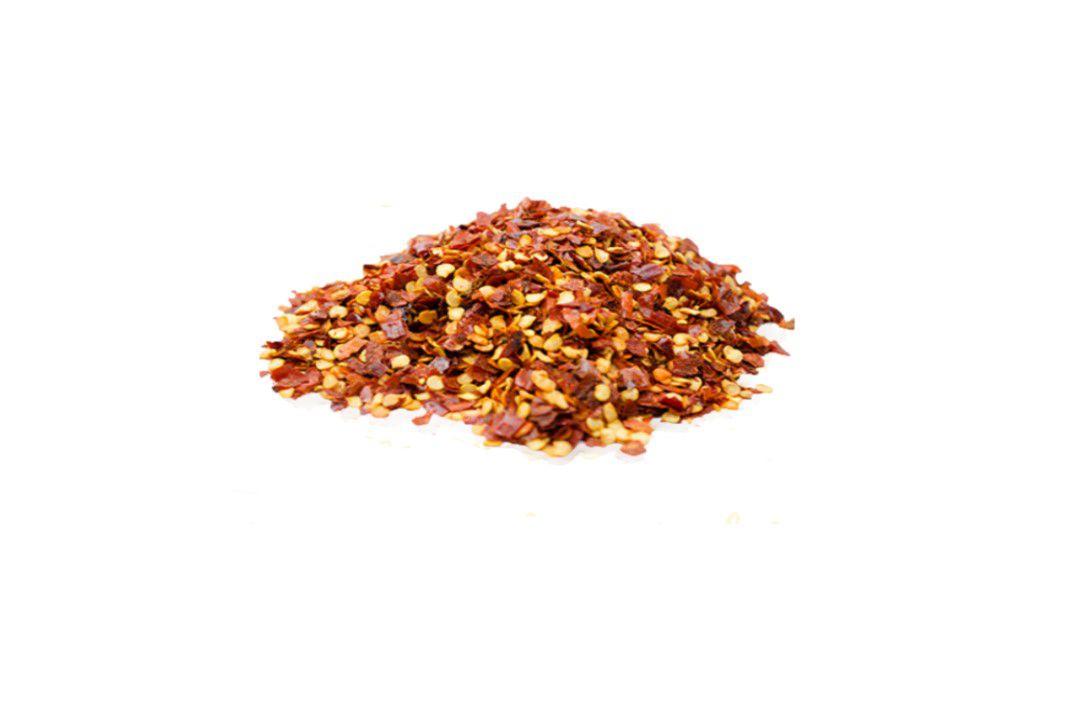 Pimenta Calabresa Seca em Flocos - Granel  - Mundo Cerealista