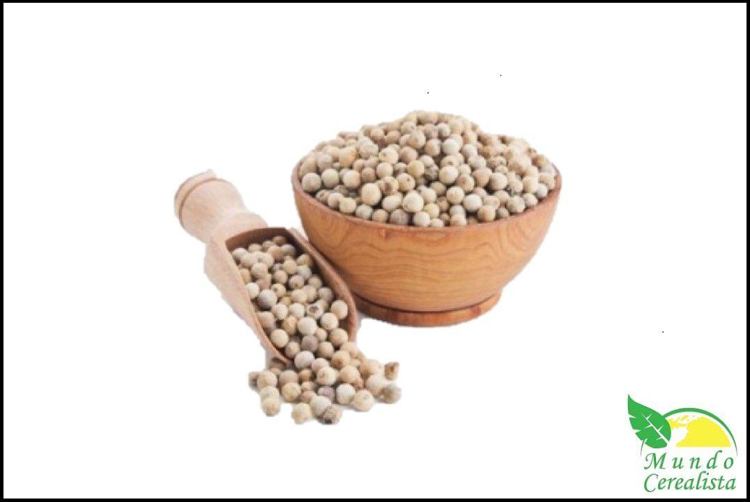 Pimenta do Reino Branca em Grãos - Granel  - Mundo Cerealista
