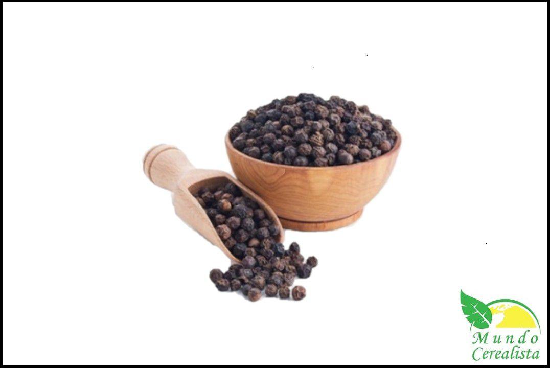 Pimenta do Reino Preta em Grãos - Granel  - Mundo Cerealista