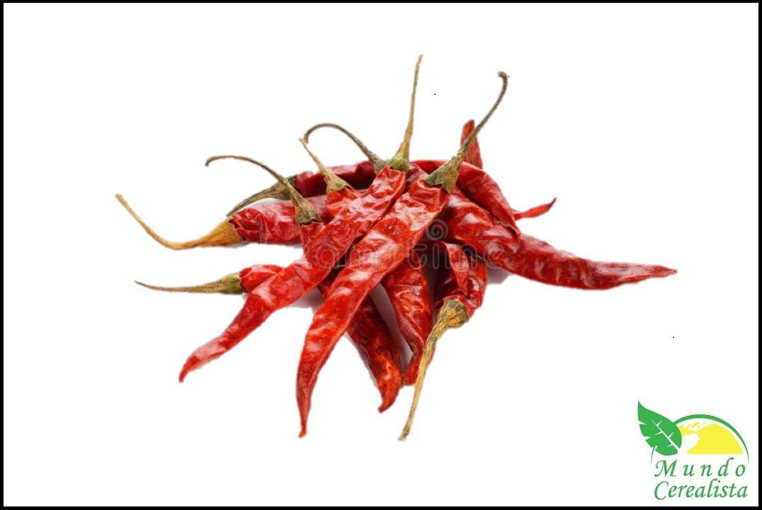 Pimenta Malagueta Vermelha Seca - Granel  - Mundo Cerealista
