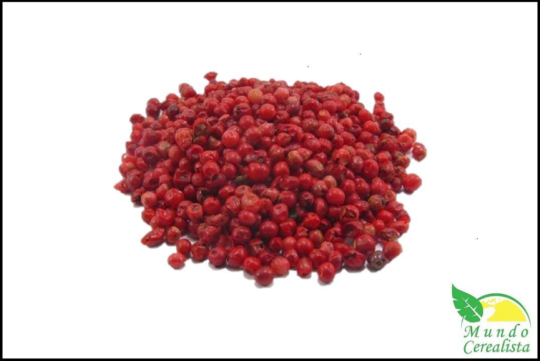 Pimenta Rosa em Grãos - Granel  - Mundo Cerealista