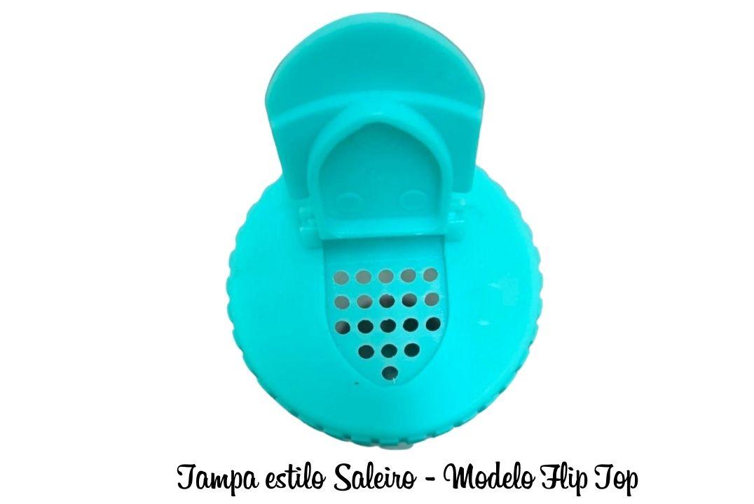 PORTA TEMPERO PLÁSTICO 08CM - BPA FREE - 1 UNIDADE  - Mundo Cerealista