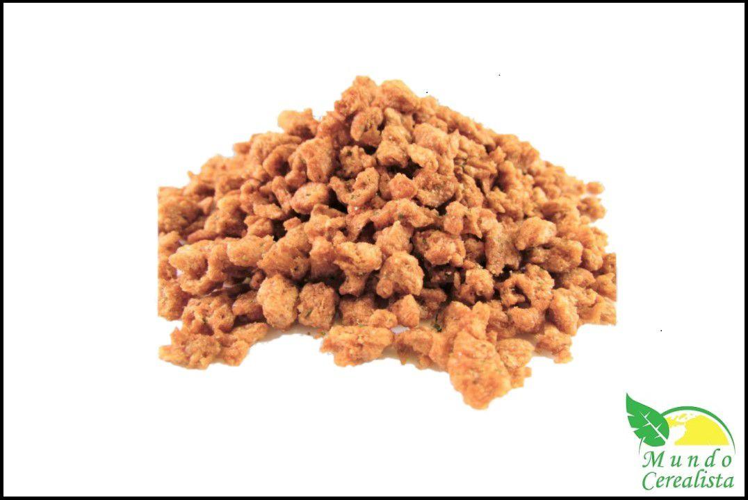 Proteina de Soja Sabor Salsa E Cebola - Granel  - Mundo Cerealista