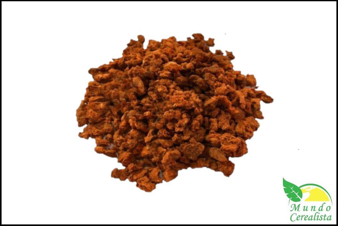 Proteína de Soja Texturizada Miúda Bacon - Granel  - Mundo Cerealista