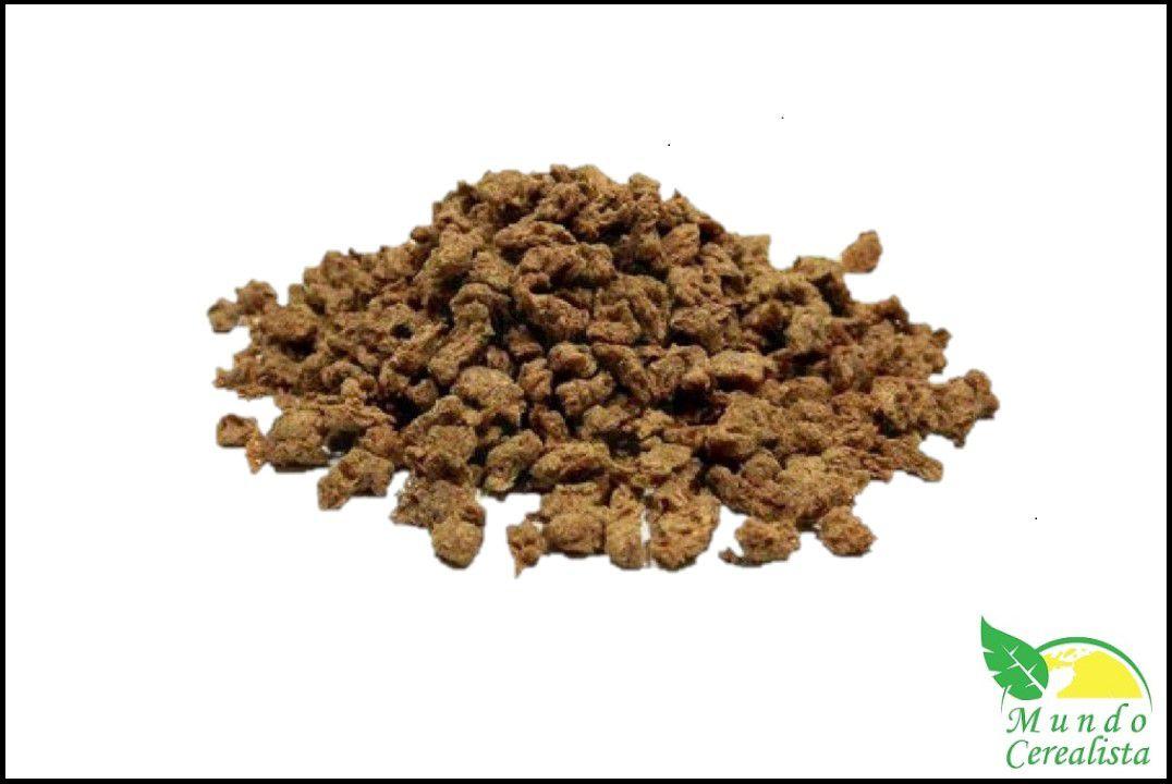 Proteína de Soja Texturizada Média Carne - Granel  - Mundo Cerealista
