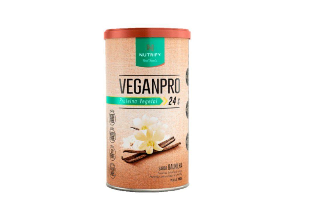 Proteína Vegana - VeganPro Baunilha 550g- Nutrify  - Mundo Cerealista
