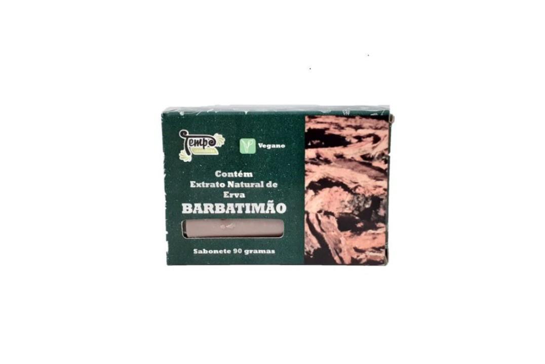 Sabonete De Barbatimão 90 Gr -  Rei Terra  - Mundo Cerealista