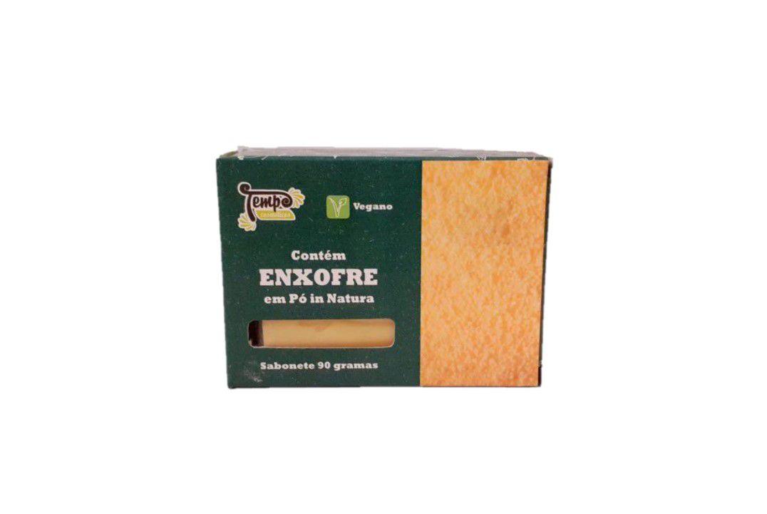 Sabonete De Enxofre 90 Gr -  Rei Terra  - Mundo Cerealista