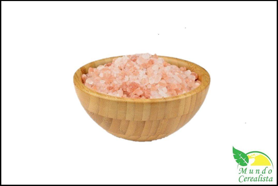 Sal Rosa do Himalaia Grosso - Granel  - Mundo Cerealista