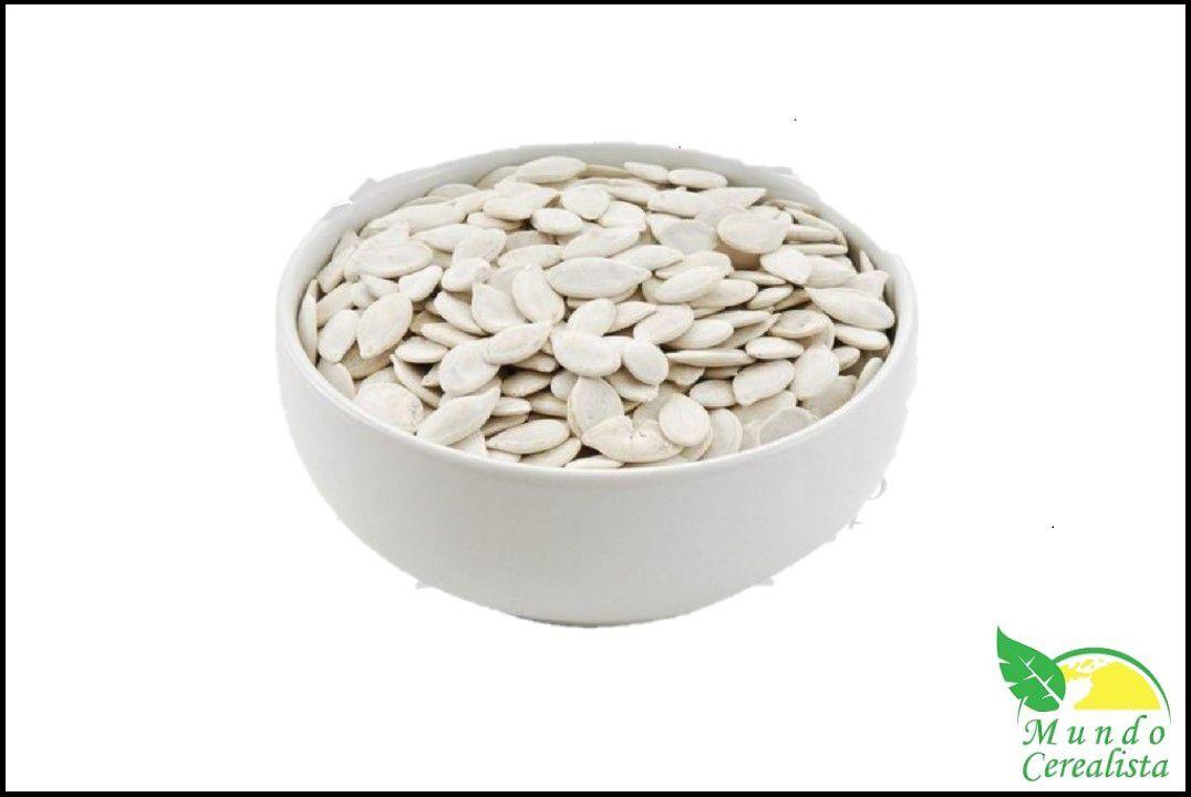 Semente de Abobora Crua C Casca - Granel  - Mundo Cerealista