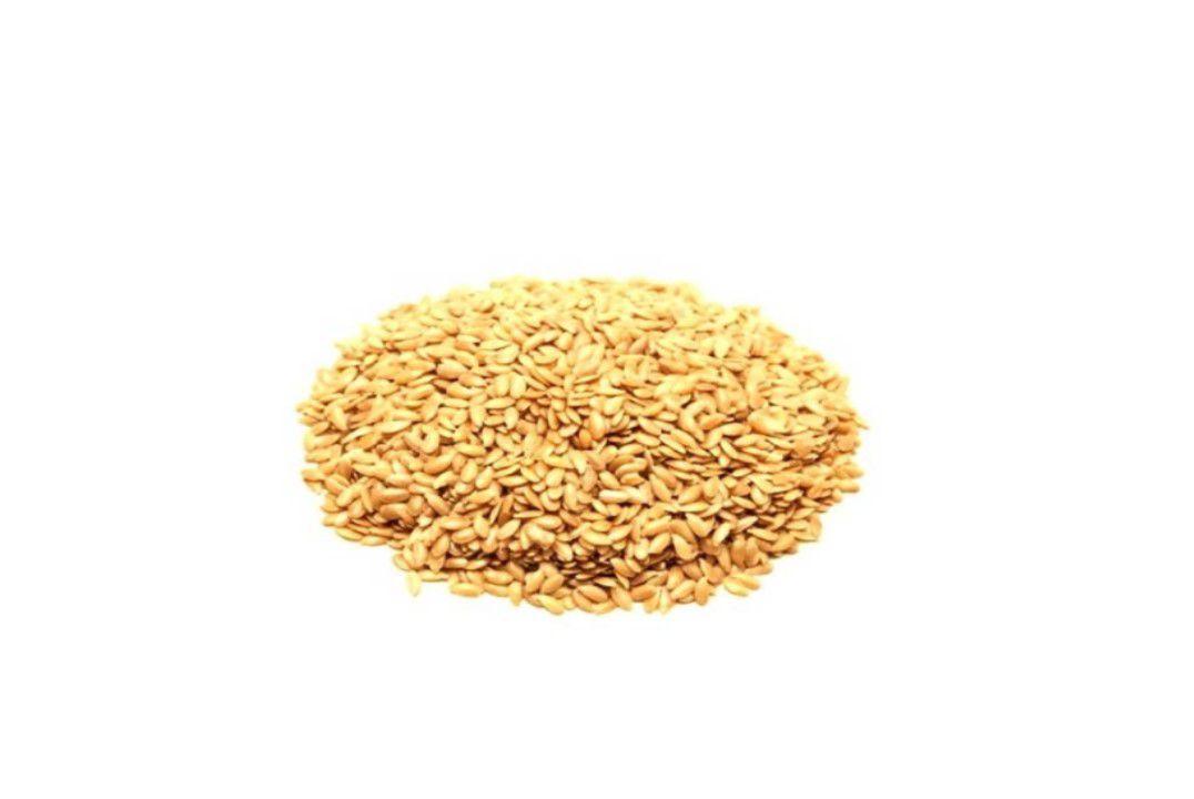 Semente de Linhaça Dourada - Granel  - Mundo Cerealista
