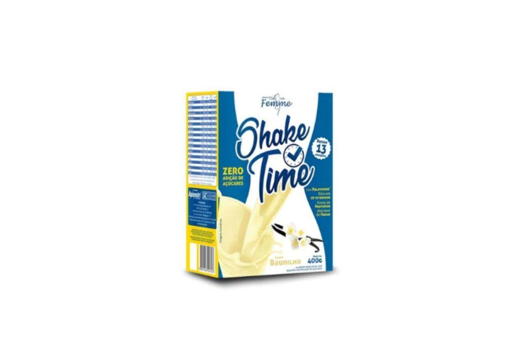 Shake Time Baunilha 400Gr - Apisnutri  - Mundo Cerealista