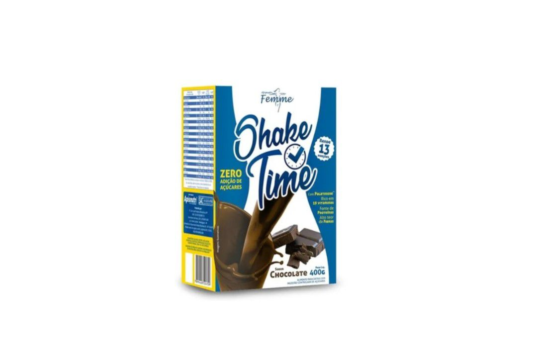 Shake Time Chocolate 400Gr - Apisnutri  - Mundo Cerealista