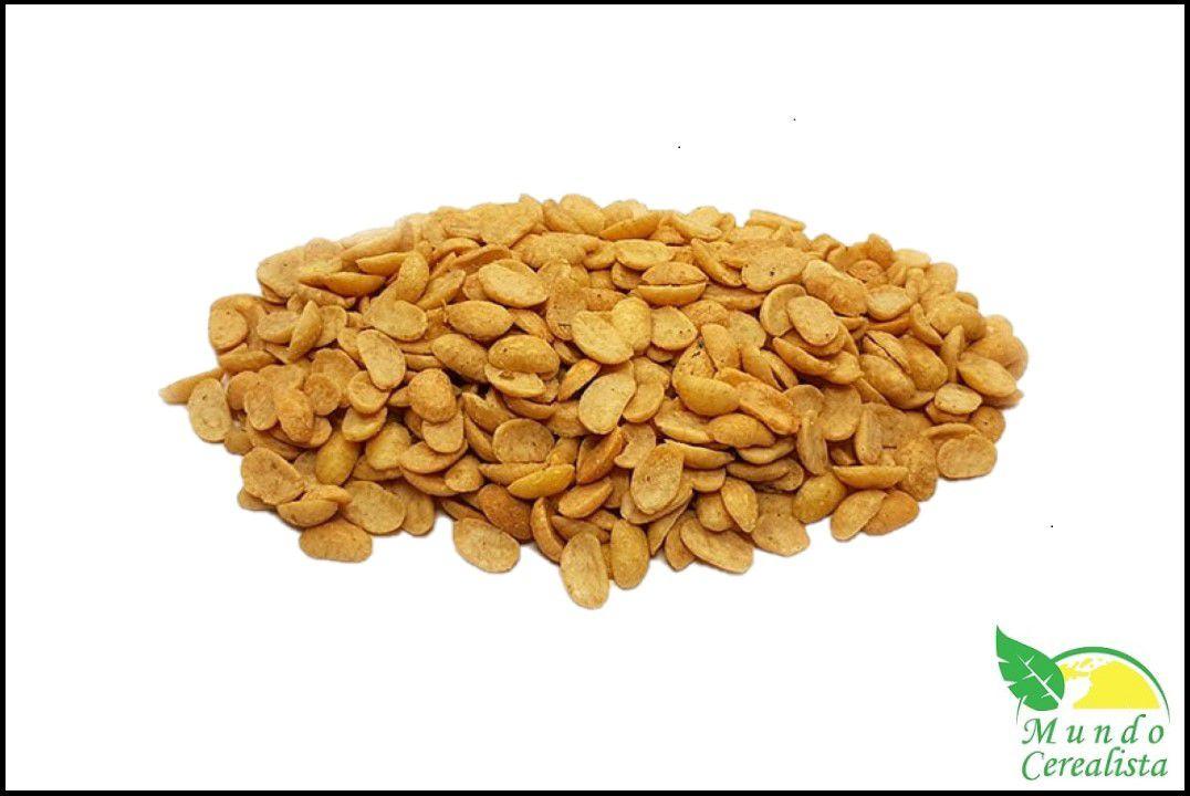 Soja Torrada Natural com Sal - Granel  - Mundo Cerealista