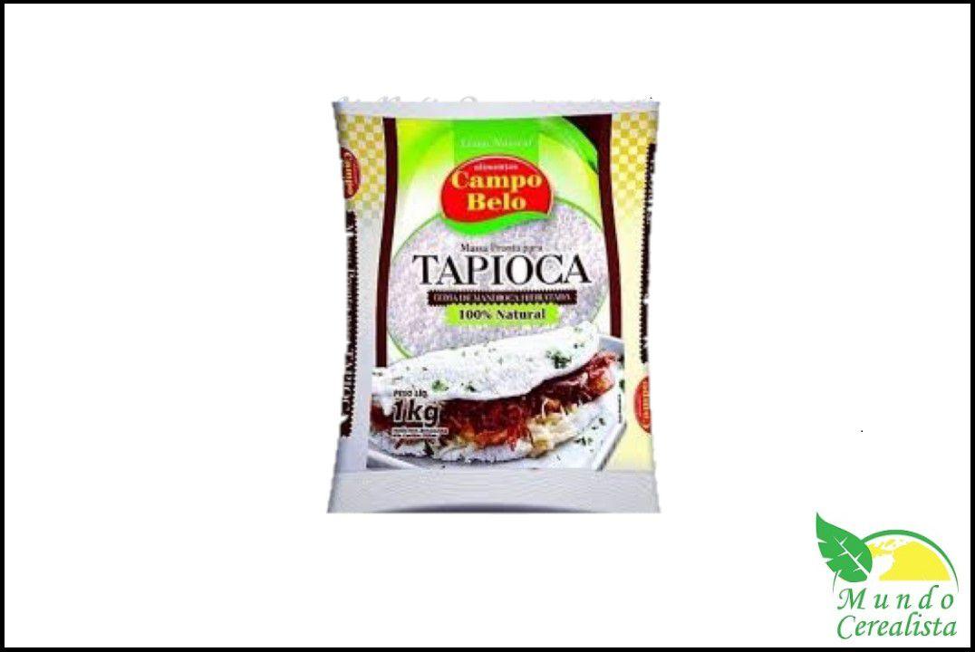 Tapioca Campo Belo - 1 Kg  - Mundo Cerealista