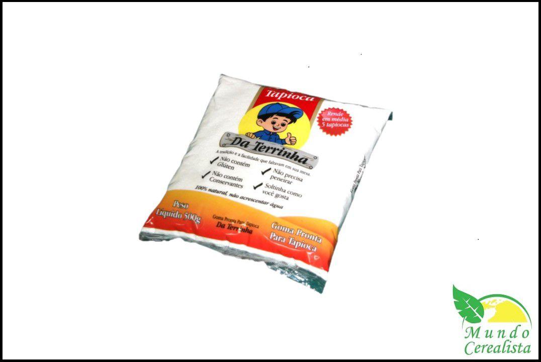 Tapioca da Terrinha 500 gr  - Mundo Cerealista