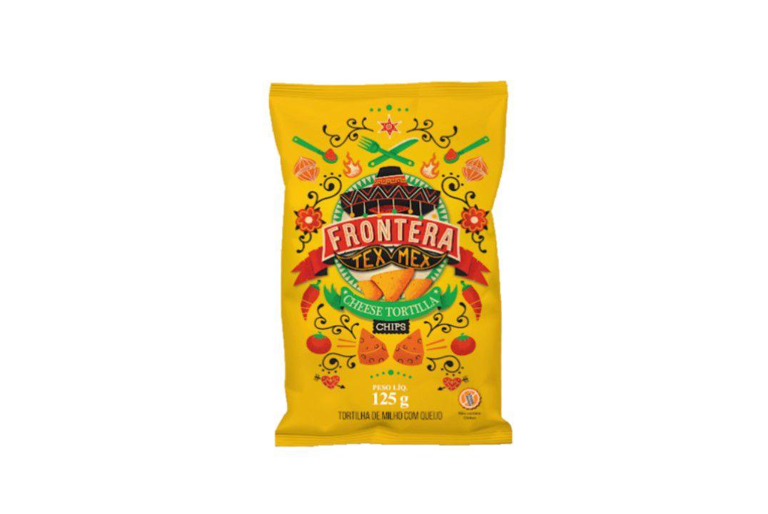 Tortilla Chips Queijo 125G Frontera  - Mundo Cerealista