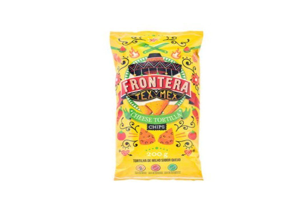 Tortilla Chips Queijo 200G Frontera  - Mundo Cerealista