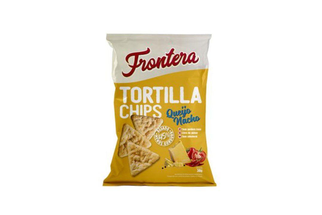 Tortilla Chips Queijo Nacho 38G Frontera  - Mundo Cerealista
