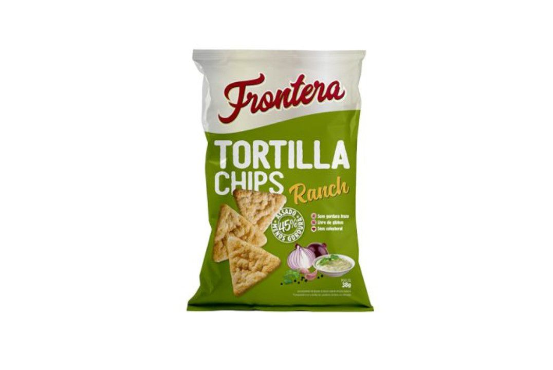 Tortilla Chips Sabor Ranch 38G Frontera  - Mundo Cerealista