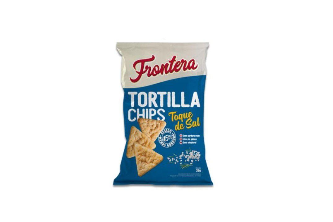 Tortilla Chips Toque De Sal 38G Frontera  - Mundo Cerealista