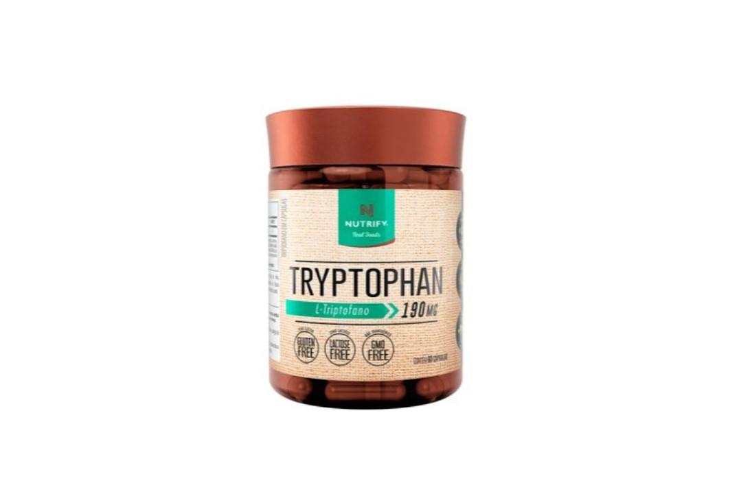 Tryptophan (Triptofano) - 60 Cápsulas - 190 Mg - Nutrify  - Mundo Cerealista