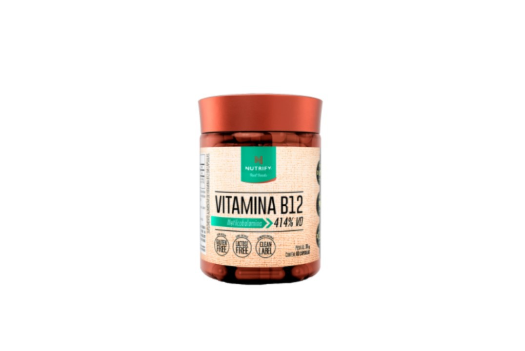Vitamina B12 60 Cápsulas - Nutrify  - Mundo Cerealista