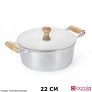 Caçarola Alumínio Fundido 22 cm - Metalúrgica Carola