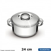 Caçarola Inox 24 cm Solar - Tramontina