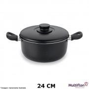 Caçarola Antiaderente Gourmet 24 cm - Multiflon
