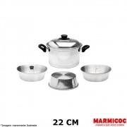Conjunto 3x1 Alumínio - Marmicoc