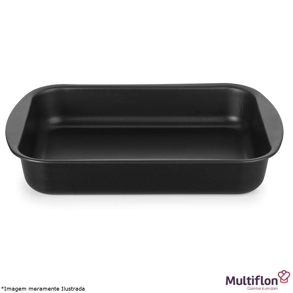 Assadeira Antiaderente Funda 40 cm - Multiflon