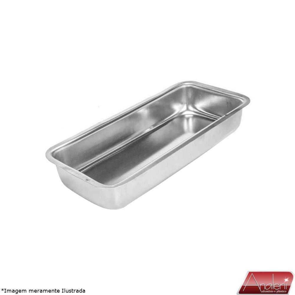 Assadeira para Pão Nº 2 Alumínio 1,2 L - Analeni