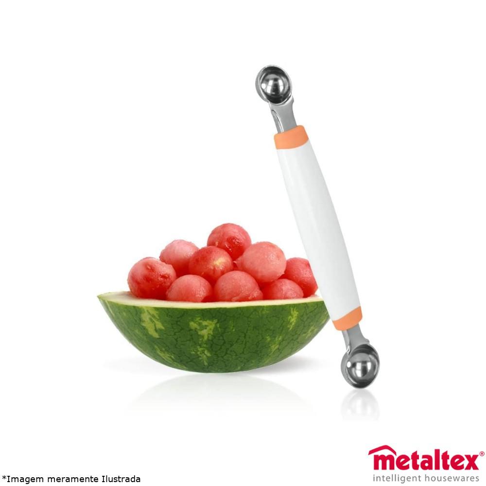 Boleador de Fruta Duplo - Metaltex