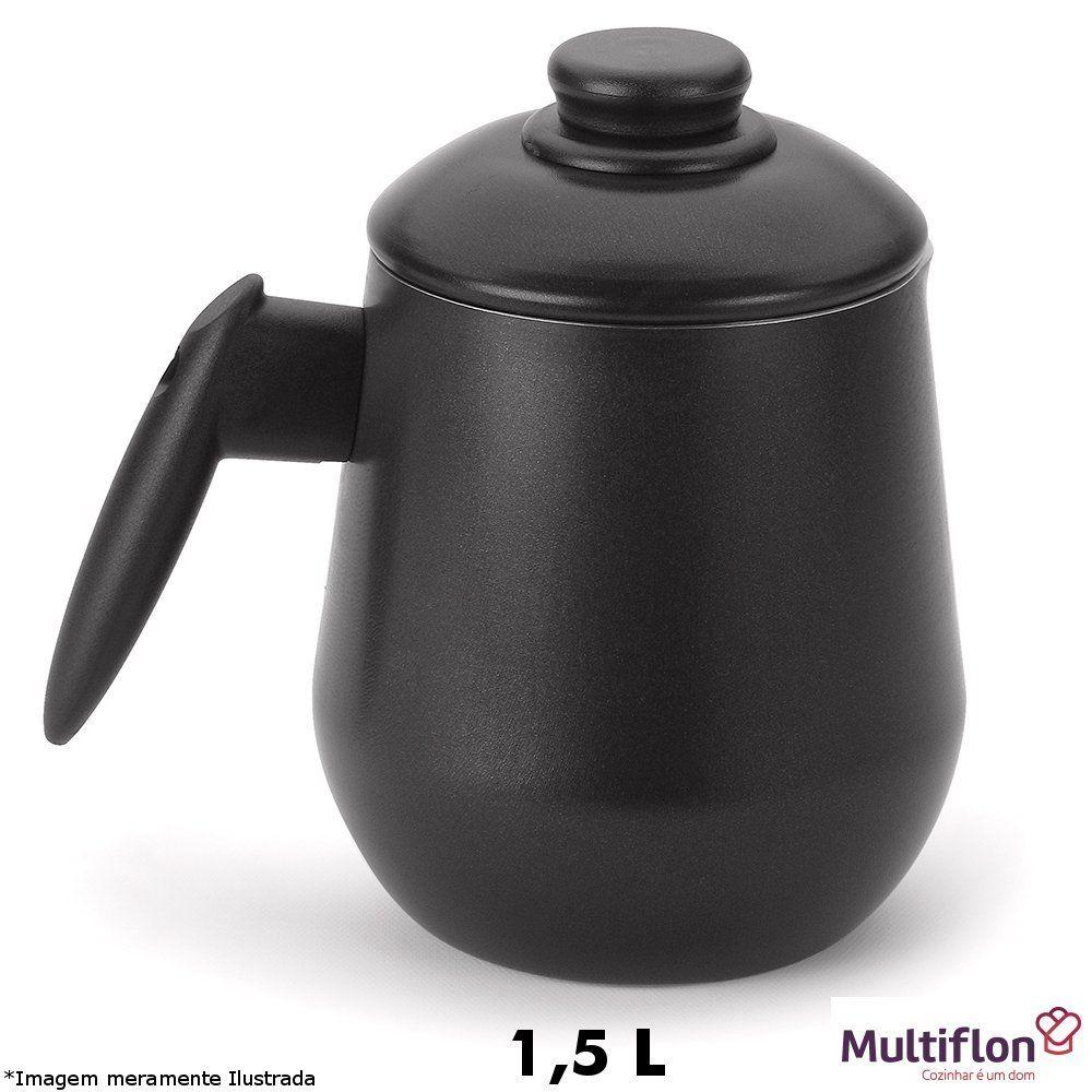 Bule Teflon C/Tampa 1,5 L - Multiflon