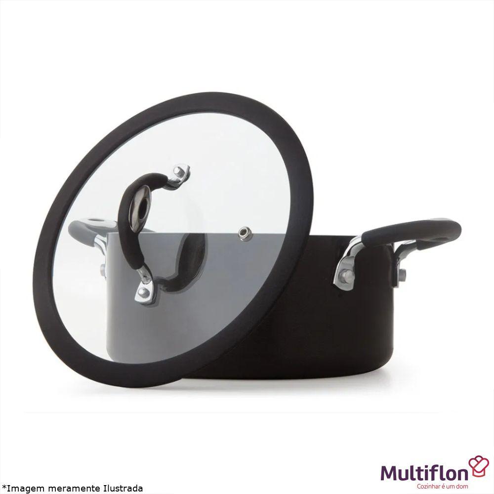Caçarola Antiaderente 22 cm Dom - Multiflon