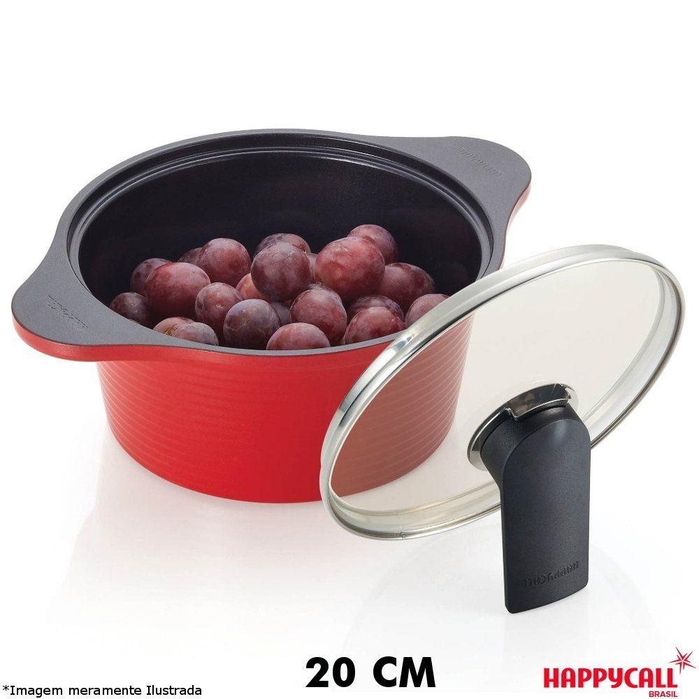 Caçarola Cerâmica Alumite 20 cm - HappyCall