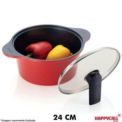 Caçarola Cerâmica Alumite 24 cm - HappyCall