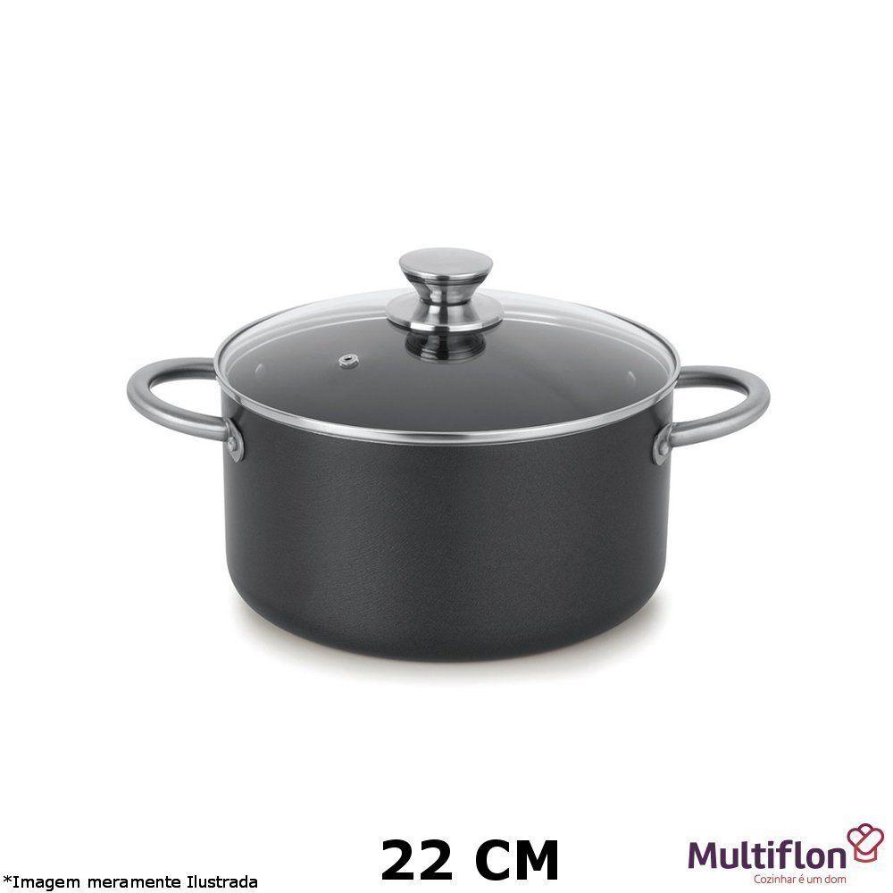 Caçarola Profissional Teflon 22 cm - Multiflon