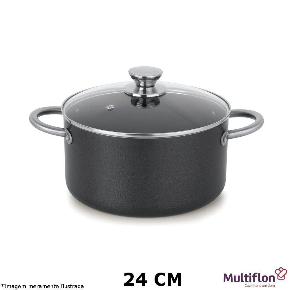 Caçarola Profissional Teflon 24 cm - Multiflon