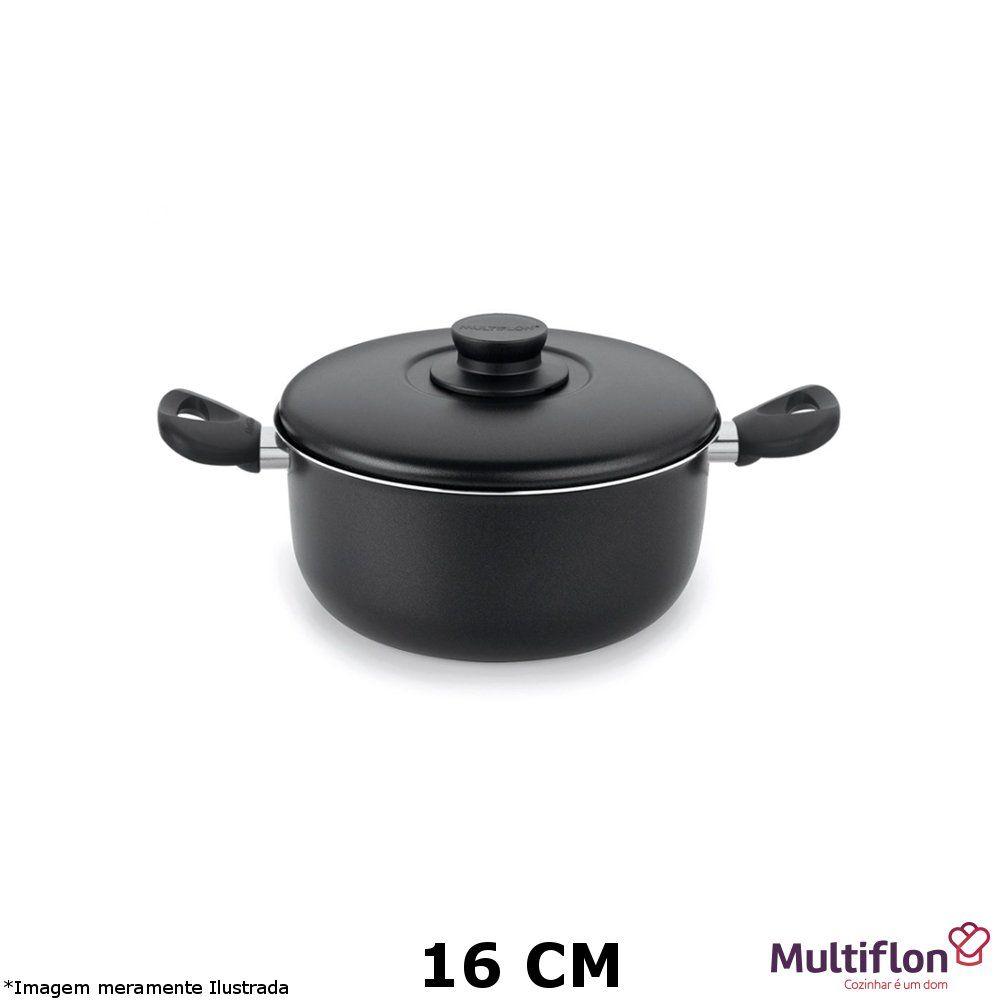Caçarola Teflon Gourmet Vapore 16 cm - Multiflon