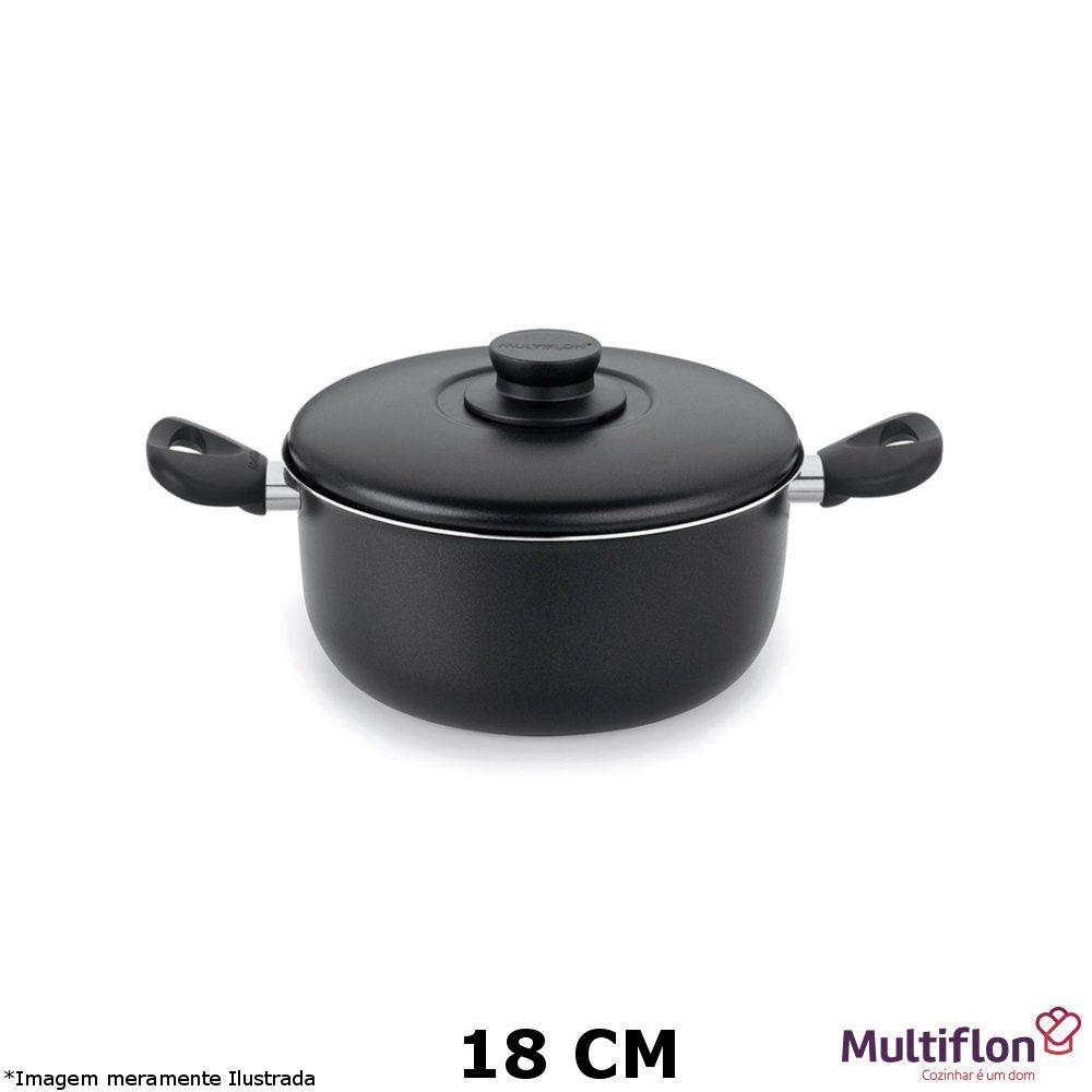 Caçarola Antiaderente Gourmet 18 cm - Multiflon