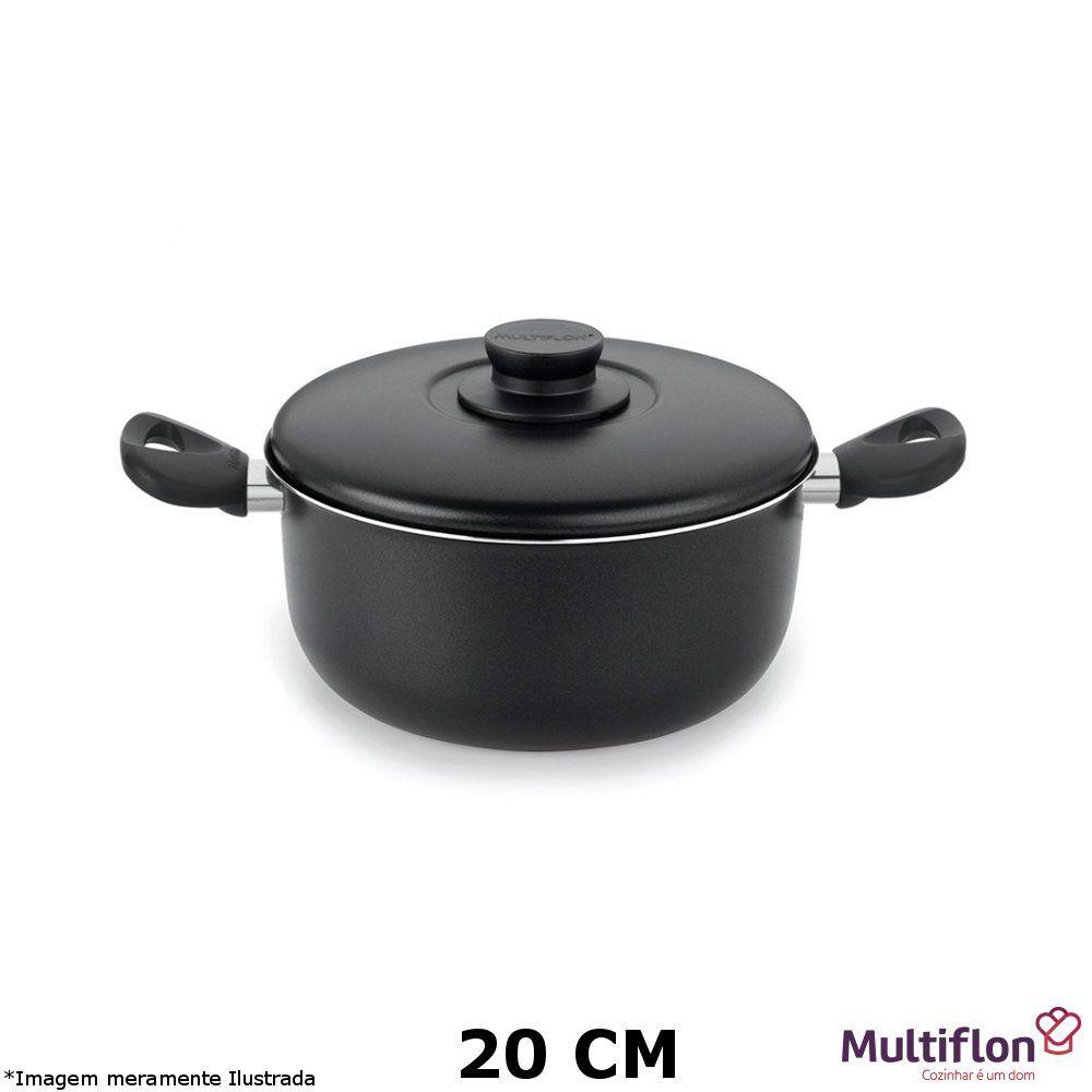 Caçarola Teflon Gourmet Vapore 20 cm - Multiflon