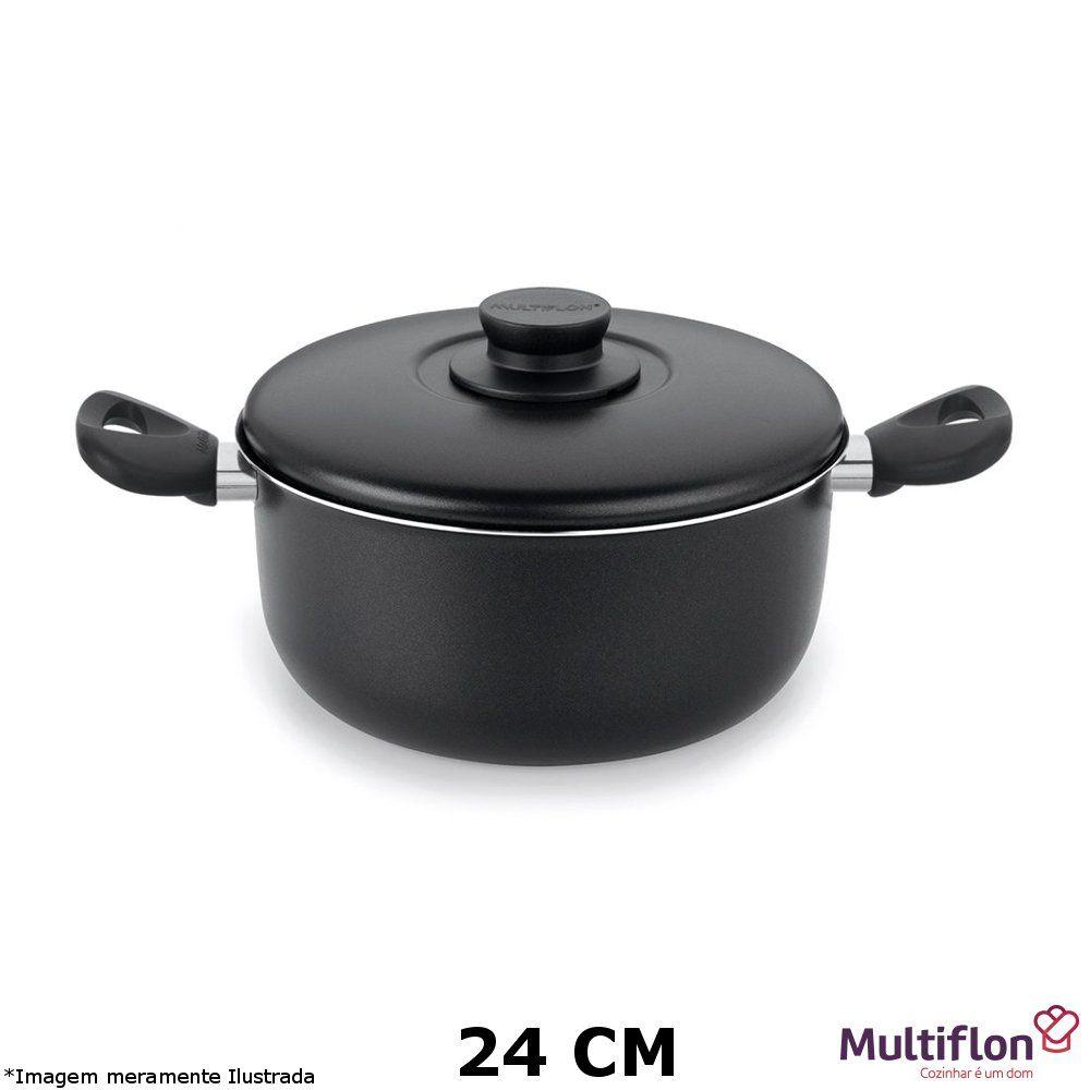 Caçarola Antiaderente Gourmet Vapore 24 cm - Multiflon